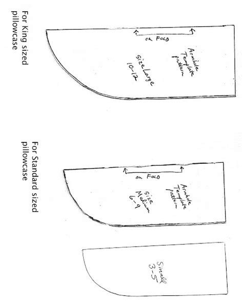Armhole Template For Pillowcase Dress pin by raina kunde on sewing and dress ideas