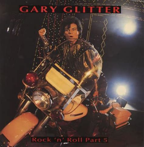 vintage rock n roll collector records collections part 1 gary glitter rock n roll part 5 uk 12 quot vinyl single 12
