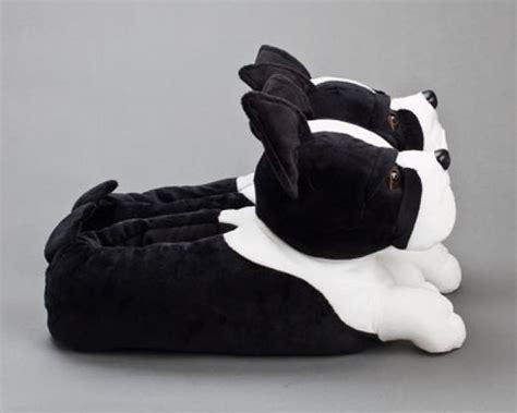 boston terrier slippers boston terrier dog slippers