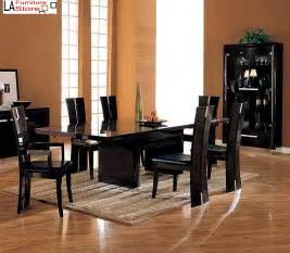 Black Wood Dining Table Wood Extendable Dining Table Furniture Home Design Ideas