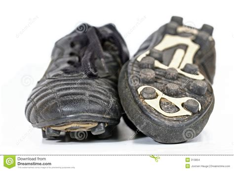 used football shoes soccer boots stock images image 313854