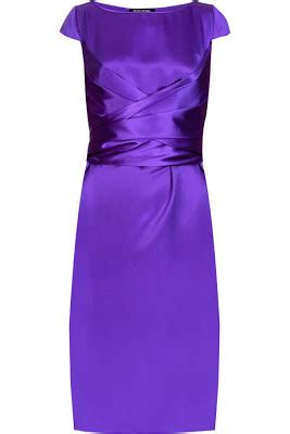 Who Wore It Better Narciso Rodriguez Lavender Tie Dress by November 2009 Fashion