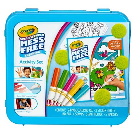 Crayola Color Mess Free crayola 174 color mess free coloring activity set target