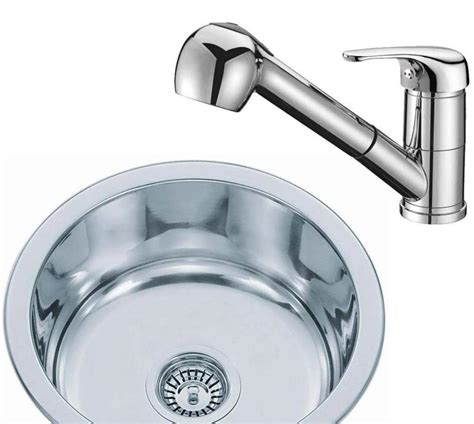 small round kitchen sinks small round stainless steel inset kitchen sink pull out