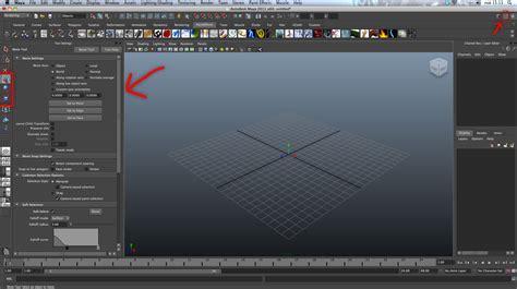 Reset Move Tool Maya   maya tool settings move settings move axis