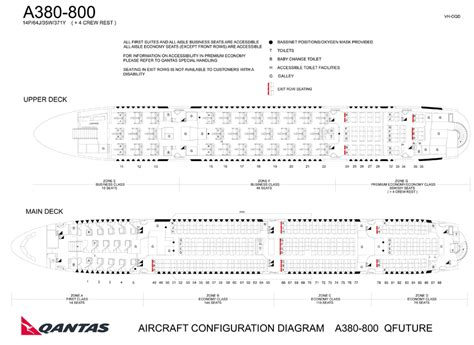 airbus a380 floor plan qantas completes airbus a380 rev with more economy