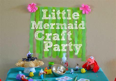 Home Decorating Stores the little mermaid craft party diy mermaid leggings