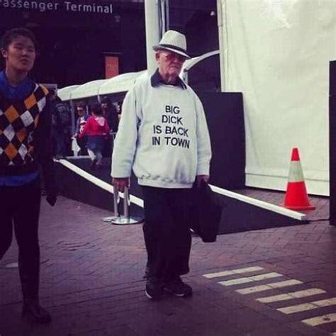 Mr Badass Meme - big dick is back in town pull over sweatshirt at zazzle ca