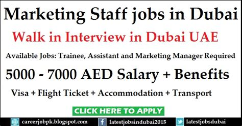 Salaries After Mba In Dubai by Marketing Staff In Dubai