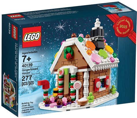 lego gingerbread house new 2015 le holiday sets lego 40138 40139 christmas train gingerbread house ebay