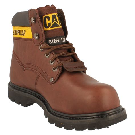 Caterpillar Boots Safety 37 mens caterpillar steel toe safety work boots style