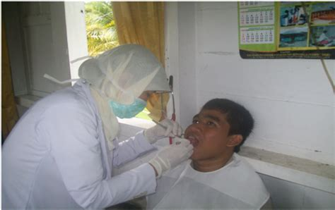 Pembersihan Karang Gigi Di Rumah Sakit pesantren modern unggulan terpadu darul mursyid