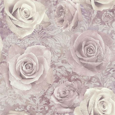 Reverie Mauve Purple Wallpaper Departments Diy At B Q   unlimited reverie mauve purple floral wallpaper diy