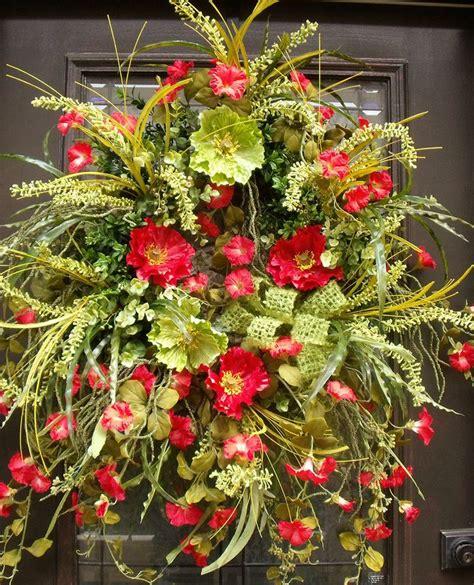 Summer Door Wreath by Summer Door Wreaths And Woodsy Wreath Summer