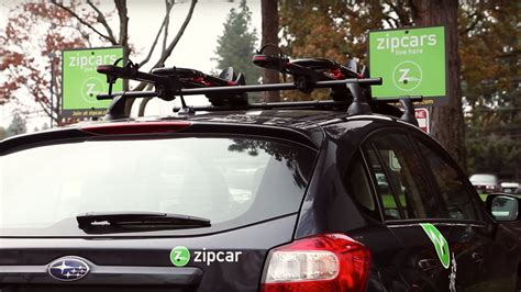 Zipcar Bike Rack by Zipcar Adds Yakima Roof Racks For Bikes Skis And Snowboards