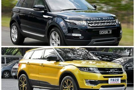 land wind vs land rover land wind la copia china del land rover evoque llega al