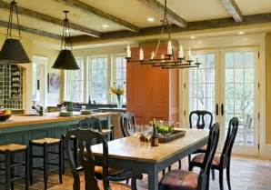 Farmhouse Kitchen Table And Chairs - derby hill farm lyme nh victorian dining room burlington by smith amp vansant architects pc