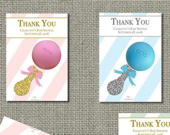 eos template for baby shower favors free printed baby shower party favors for eos lip balm thank you