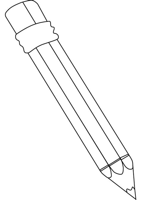pencils for coloring books pencil coloring page big and small pencil gianfreda net