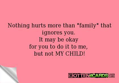 My Mba Did Nothing For Me by Rottenecards Nothing Hurts More Than Family That Ignores