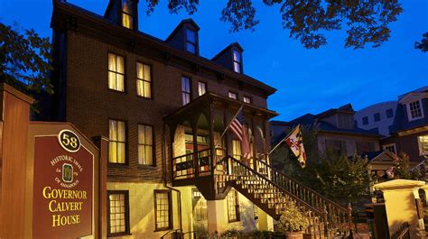 calvert house historic inns provide unique lodging options for downtown stays annapolis com