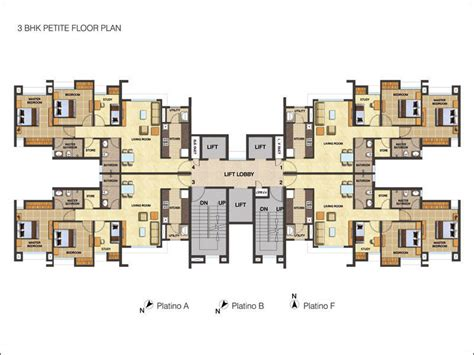 blockbuster at home plans 1 2 3 bhk cluster plan image lodha group codename