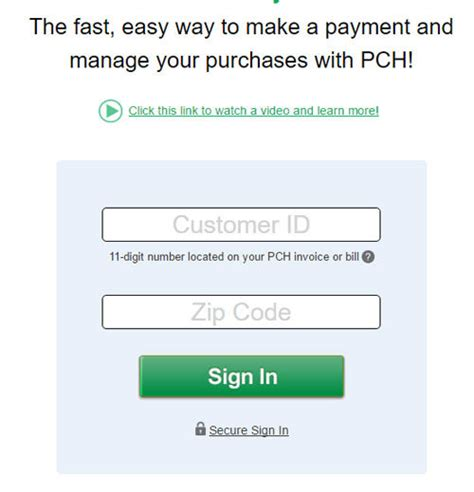 www pch com pay can you pay your pch bill online - Pch Com Pay