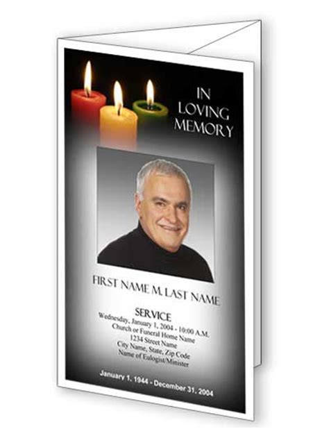 Funeral Programs Sles Of Funeral Program Exle Of Templates Free Patriotic Funeral Program Template