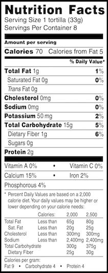 1 whole grain tortilla calories whole wheat tortilla nutrition 6 inch