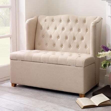 cream bench seat cream antoinette ottoman bench seat dunelm for the