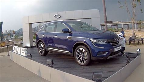 Renault Koleos 2 5 Cvt 2017 2017 renault koleos qm6 launched in korea with 2 0 dci