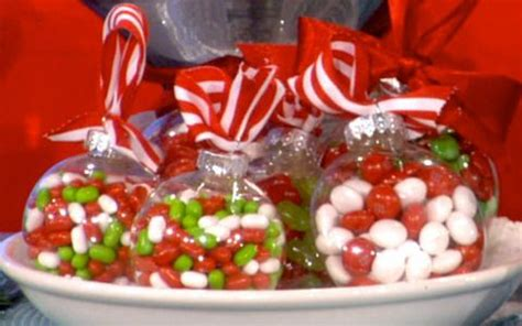 candy filled ornaments great gift idea for co workers or