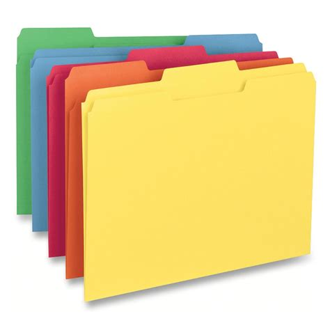 business source color coding top tab file folder ld products
