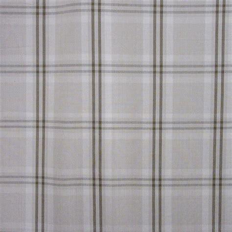 plaid drapery fabric wilton cotton plaid beige mocha drapery fabric by waverly