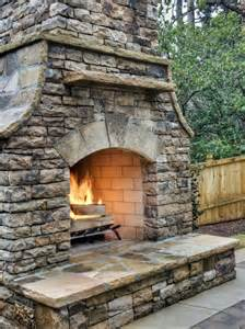 Fireplace Builders by Building Outdoor Fireplace Cinder Block Home Design Ideas