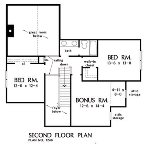 wexler house plan the wexler house plan w goo 1248 total living 1 997 sq ft bonus room 241 sq