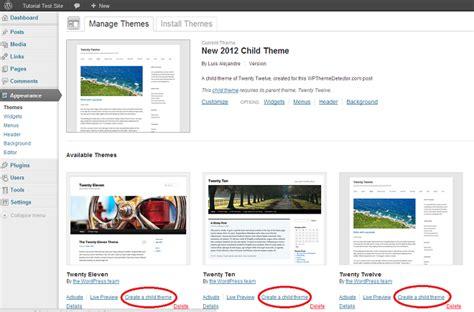 blog theme detector child theme plugin manage themes wordpress theme detector