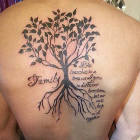 tree tattoos with meaning of life tattoowida ink