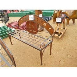 john deere bench 56 quot john deere metal bench