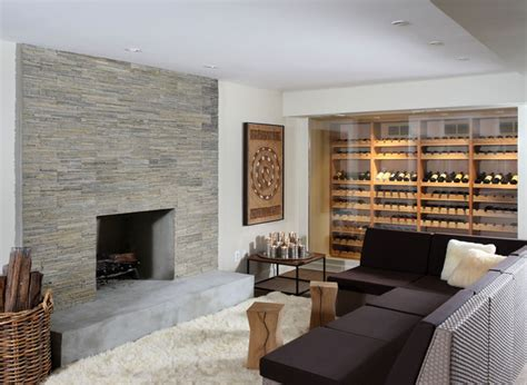 wine cellar contemporary basement dc metro by nf