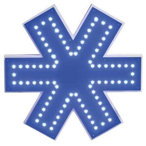 Lu Led Ambulance enseigne lumineuse drapeau grenoble voiron
