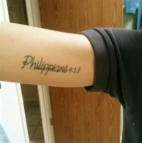 phil 4 13 tattoo philippians 4 13 strength inked