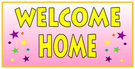 welcome home banner 110 welcome home banner templates