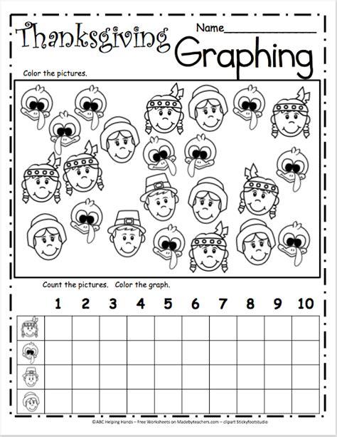free printable thanksgiving graphs thanksgiving graphing worksheets geersc