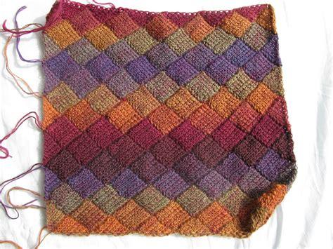 crochet pattern using sock yarn tunisian entrelac crochet patterns crochet and knit