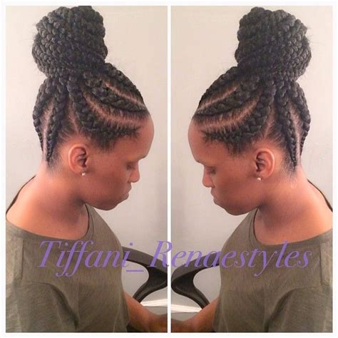 large cornrow hairstyles big cornrow updo hairstyles hairstyles website number