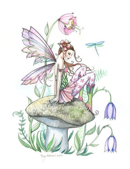 faerie garden spring colouring 1908072806 spring welcome by molly harrison fantasy art unicorns fairies dragons oh my