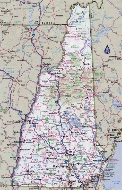 maine new hshire map arkansas map map of new hshire roads arkansas map