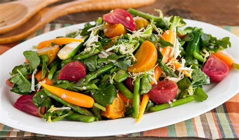 Kitchen Island Red by Spring Vegetable Salad In The Kitchen With Stefano Faita