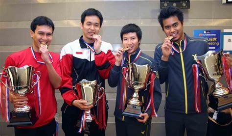 Raket Pemain Dunia inilah 22 pemain indonesia di kejuaraan dunia bulu